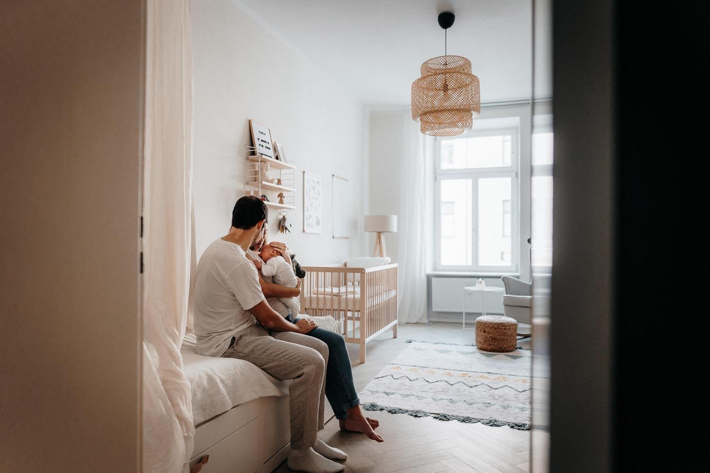 Homestory Newborn München Baby